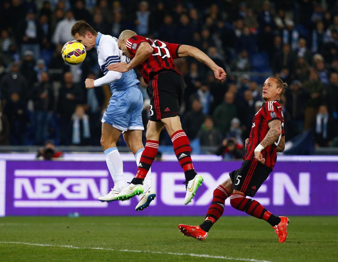 Coppa Italia, Milan vs Lazio 0-1: rossoneri fuori