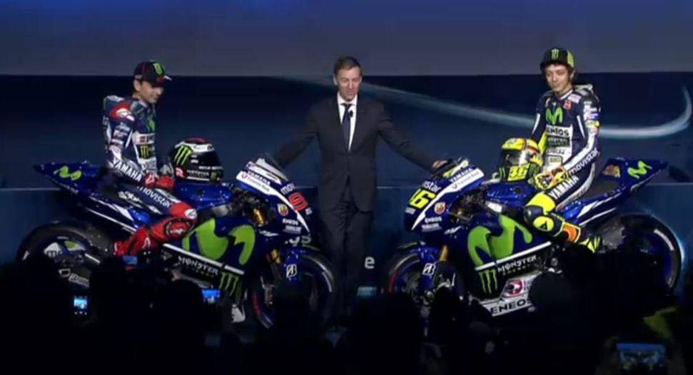 La nuova Yamaha M1 MotoGP 2015 di Valentino Rossi e Jorge Lorenzo