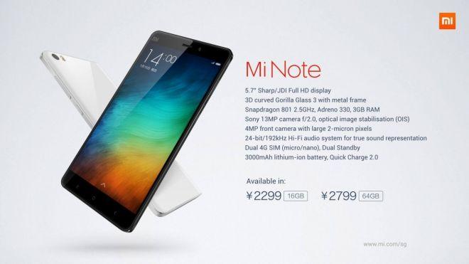 Xiaomi Mi Note Pro, lo smartphone più potente al mondo