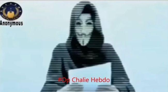 Attentato a Parigi, Anonymous dichiara guerra ai terroristi