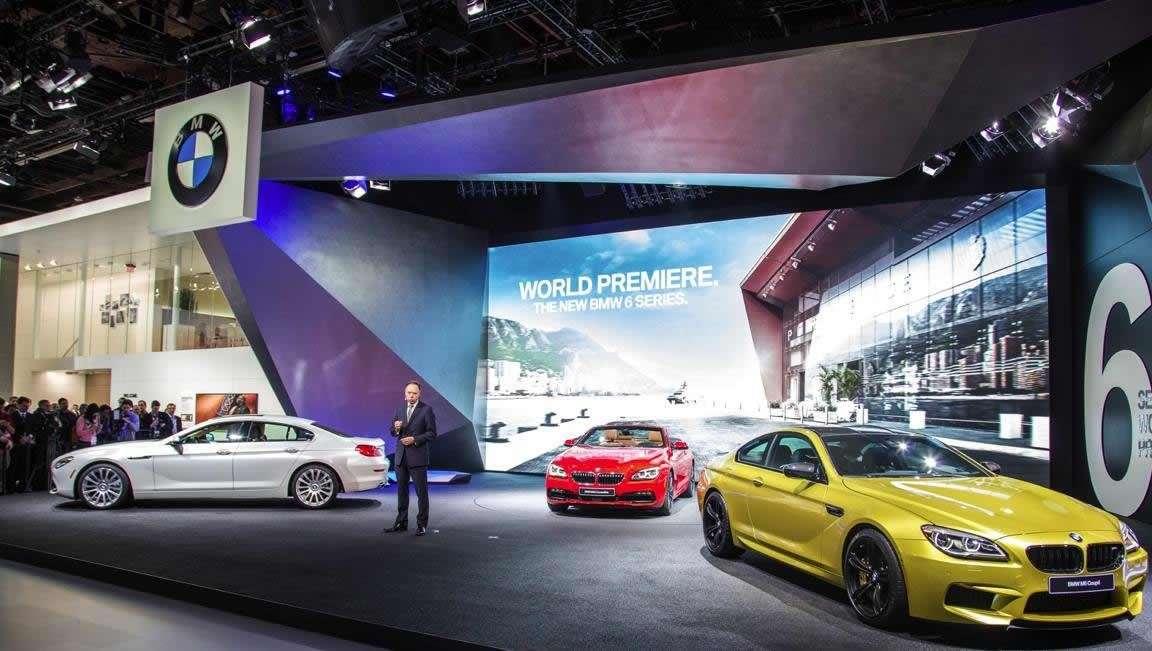 BMW Serie 6 restyling: debutto al Salone di Detroit 2015