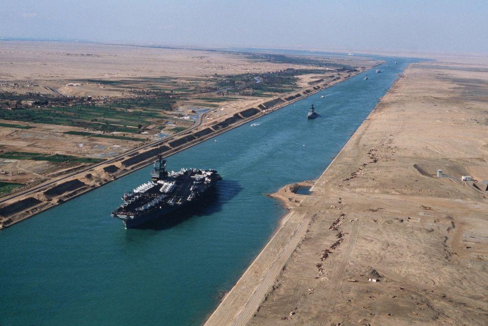 Canale di Suez, progetto di raddoppio: a rischio l'ecosistema del Mediterraneo