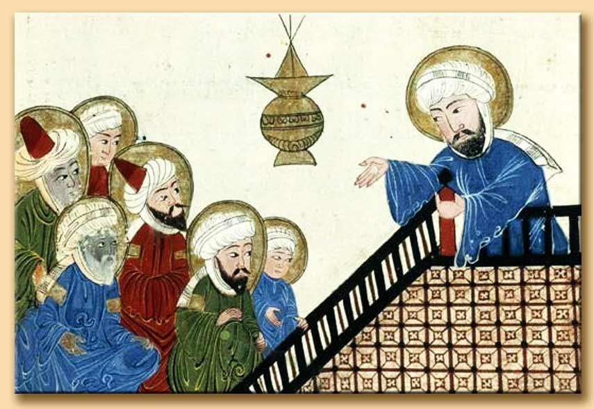 maometto predica ai seguaci 150x150