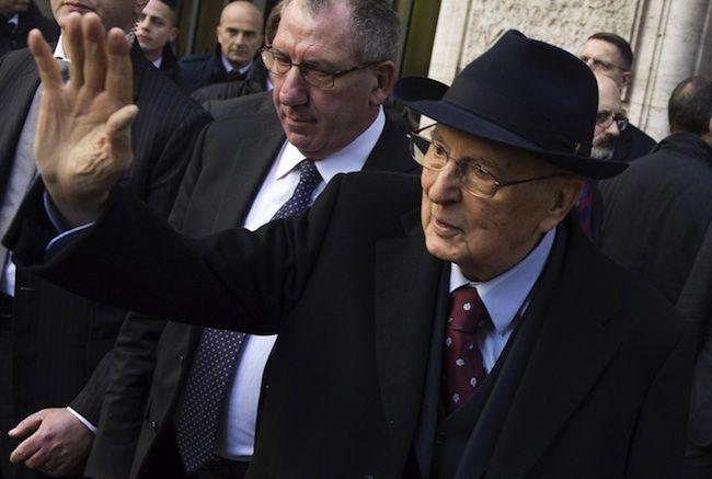 Dimissioni Napolitano, l'ultimo giorno da Presidente: 'Contento di tornare a casa'
