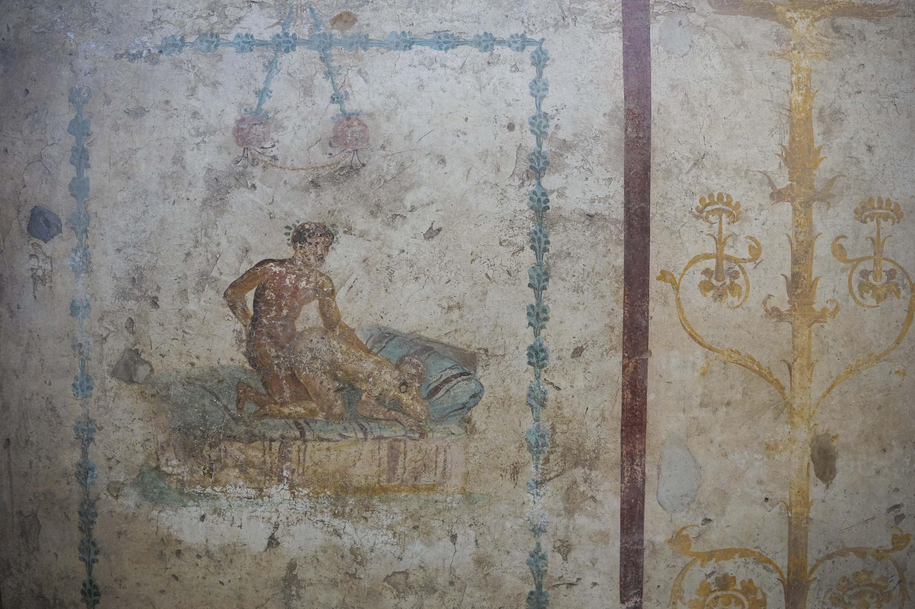 pratiche sessuali antica roma lupanare