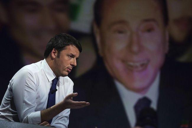 """Riforma del fisco, Renzi: """"Berlusconi sconterà tutta la pena"""""""