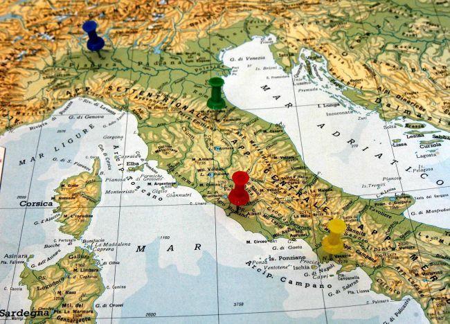 Cartina Geografica Regioni Italia.Riforma Delle Regioni In Arrivo L Accorpamento Nanopress