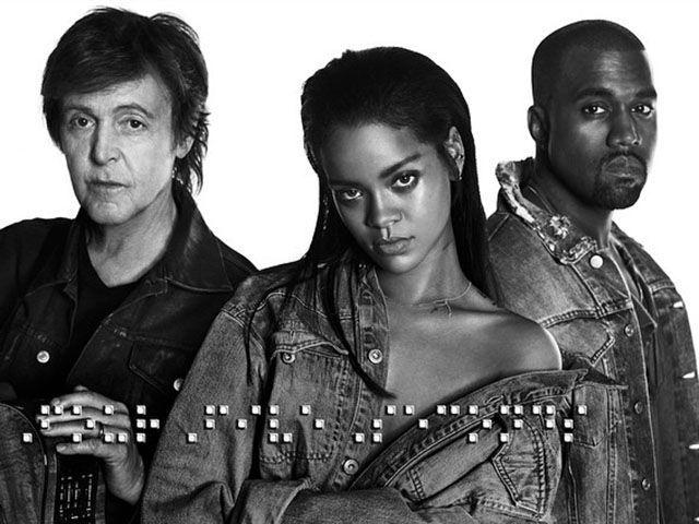 Rihanna, FourFiveSeconds: nuova canzone con Kanye West e Paul McCartney