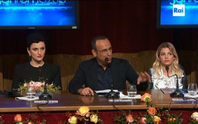 Sanremo 2015 conferenza stampa di presentazione
