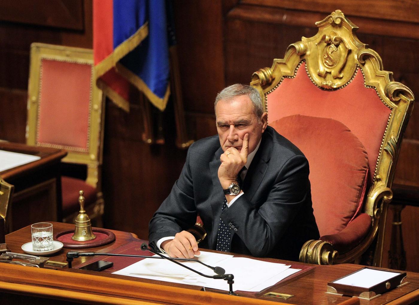 Piero Grasso Presidente della Repubblica supplente: cosa può fare?