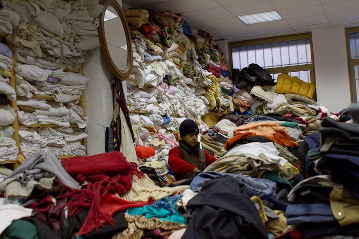 Raccolta vestiti usati: un business milionario