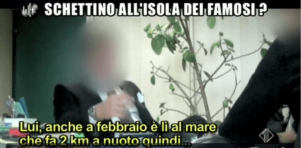 Le Iene smascherano Francesco Schettino: 2 milioni e mezzo per partecipare a L'Isola dei Famosi