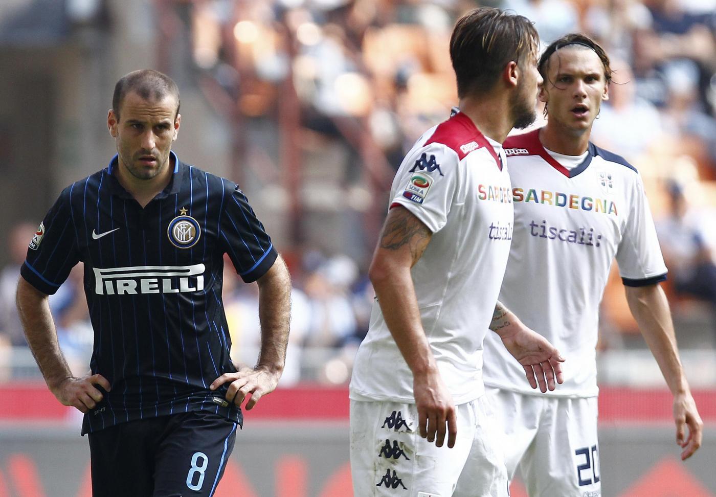 Cagliari vs Inter 1-2: terza vittoria di fila per Mancini