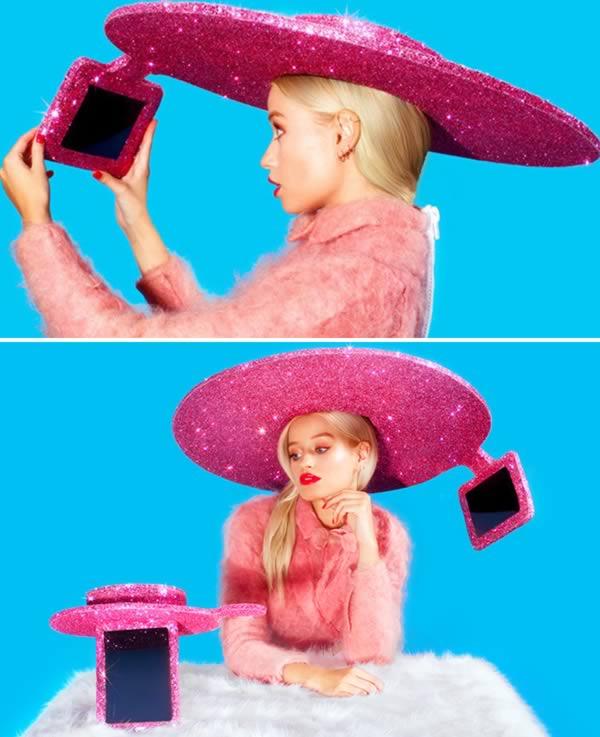 Cappello selfie