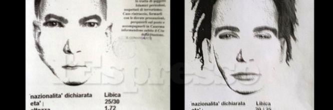 Svelato l'identikit dei presunti terroristi islamici libici ricercati a Roma