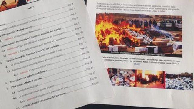 Isis: documento in italiano per jihadisti aspiranti terroristi