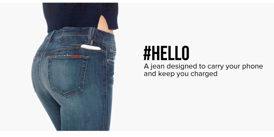 Jeans ricarica iPhone