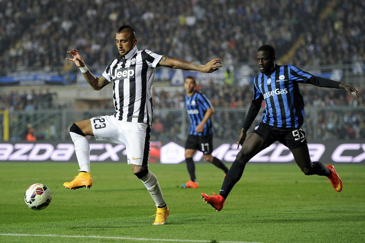 Juventus vs Atalanta 2-1: Pirlo nuovamente decisivo