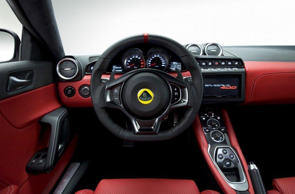 Lotus Evora 400 volante 1024x675