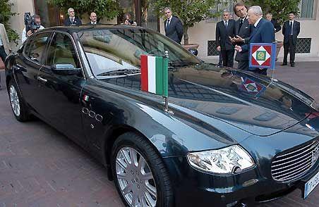 Maserati Quattroporte Presidente della Repubblica