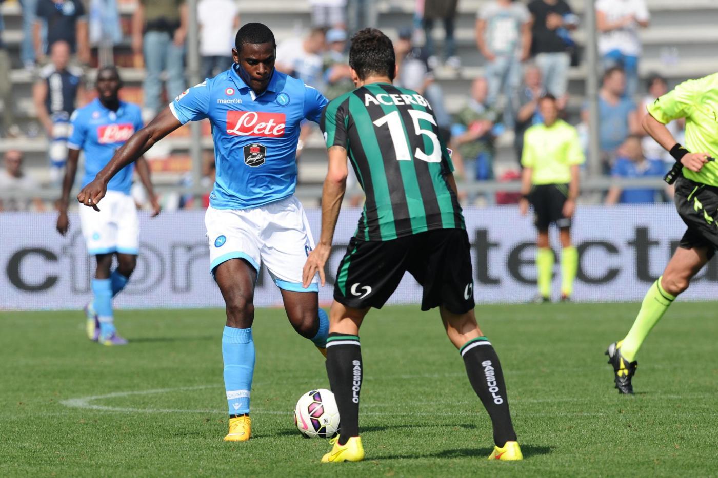 Napoli vs Sassuolo: probabili formazioni del posticipo