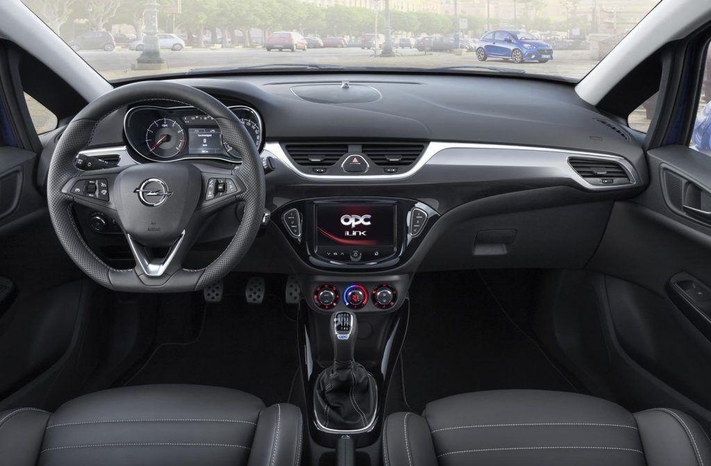 Opel Corsa OPC interni 1024x671