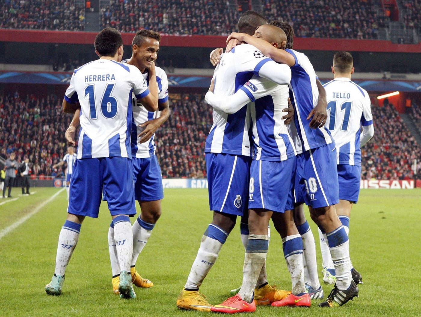 Champions League, Basilea vs Porto 1-1 che premia i portoghesi