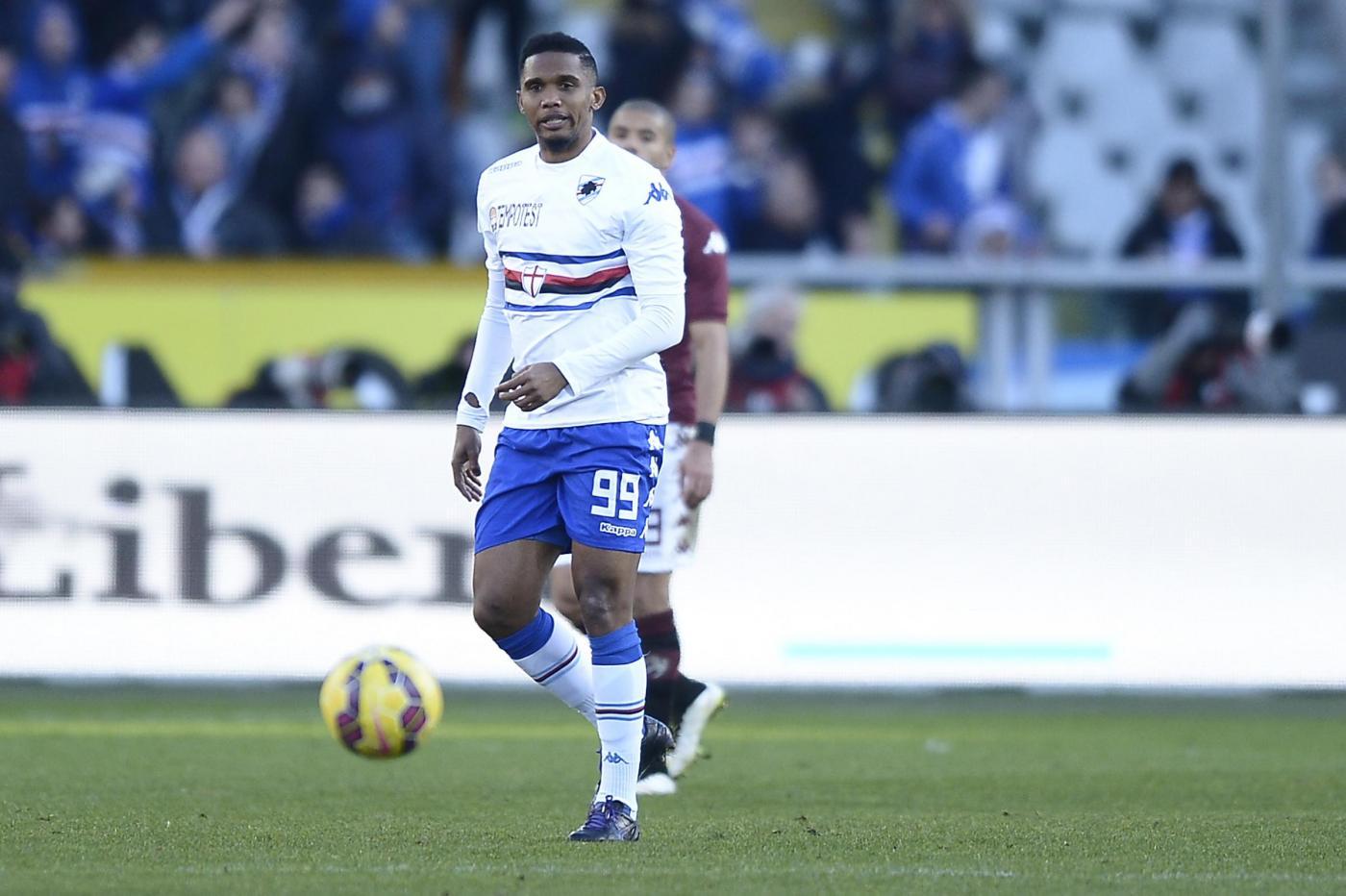 Samuel Etoo Sampdoria 150x150