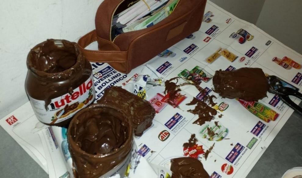 Milano Malpensa: 130mila euro in banconote nascoste nella Nutella