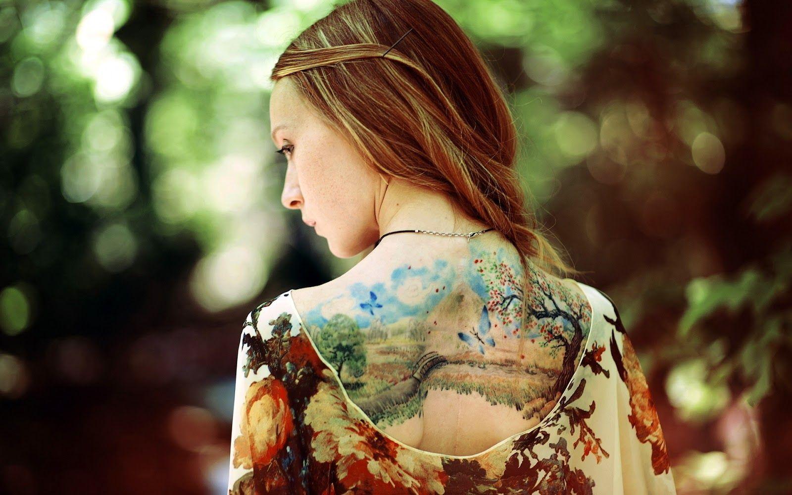 Cancellare i tatuaggi: presto basterà una crema