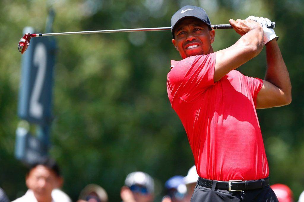 Tiger Woods in azione 1024x682
