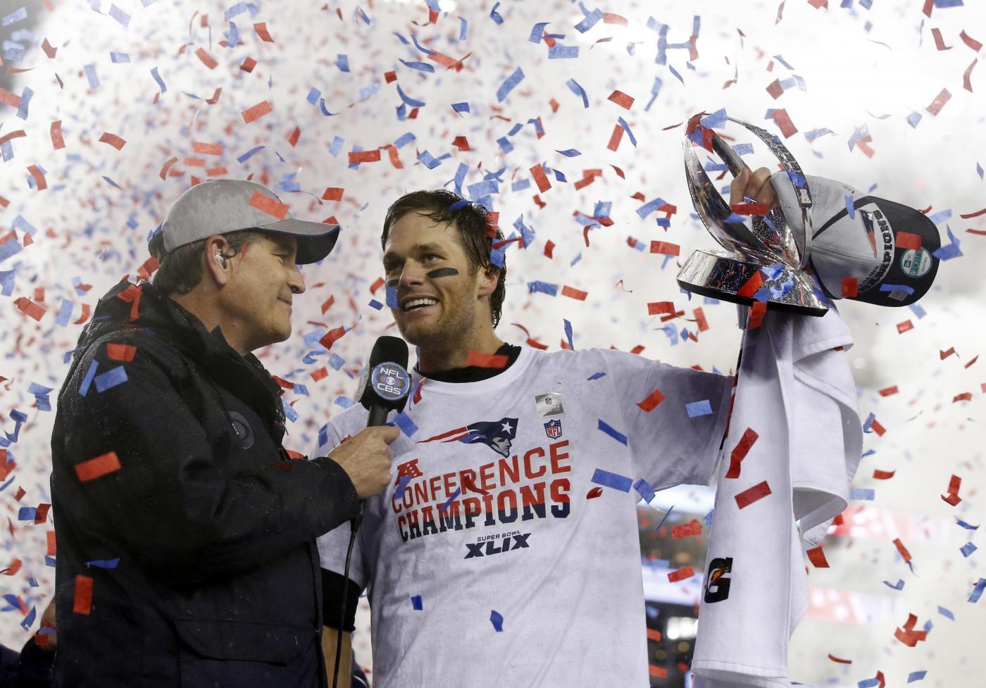 Super Bowl ai New England Patrios che battono Seattle Seahawks 28-24
