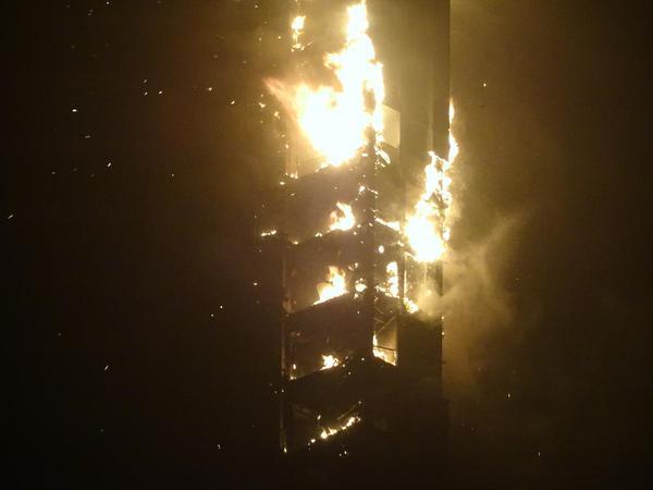 Incendio al grattacielo The Torch di Dubai