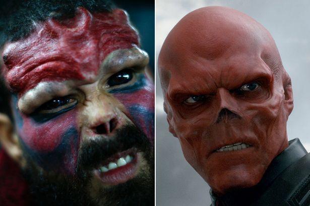 Henry Damon si è tolto il naso per essere uguale a Red Skull