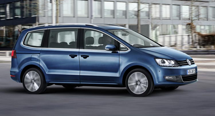 VW Sharan restyling