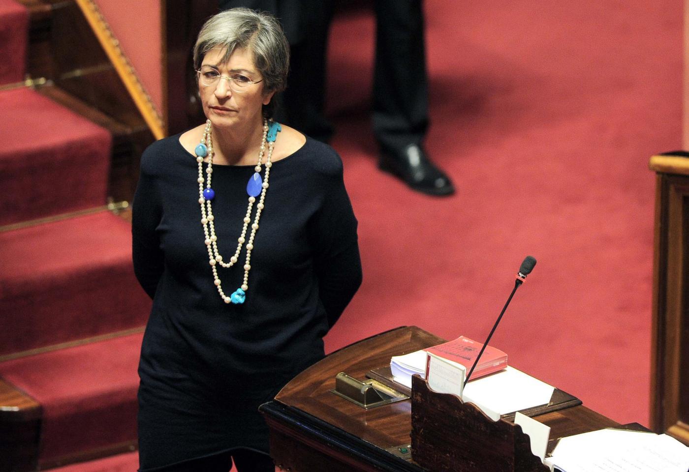 Ministero per il Mezzogiorno: Renzi pensa ad Anna Finocchiaro