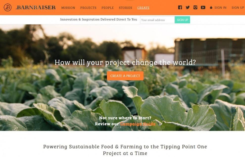 Barnraiser, piattaforma green per l'agricoltura sostenibile