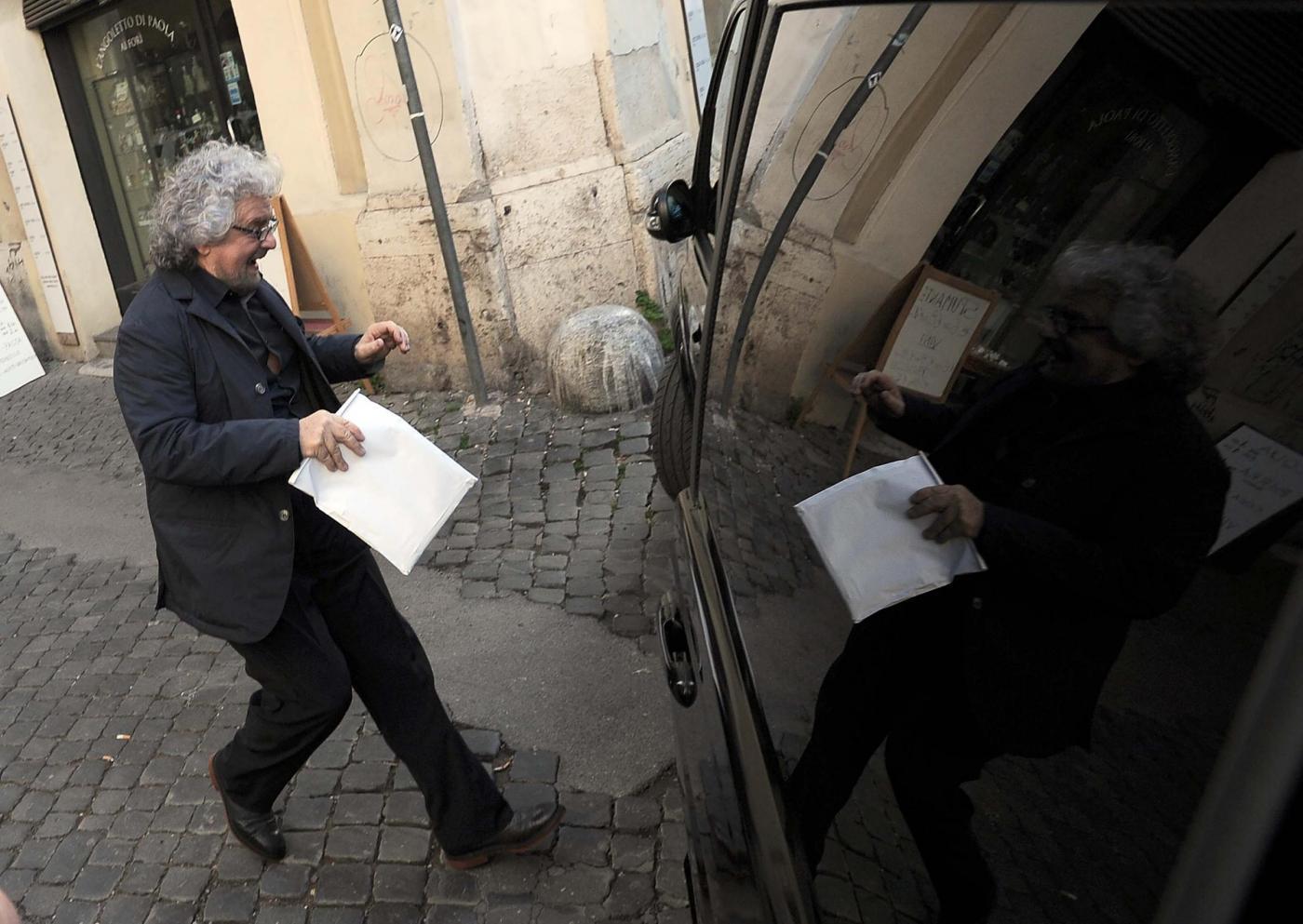 Grillo e Casaleggio incontrano Sergio Mattarella: le proposte del Movimento 5 Stelle