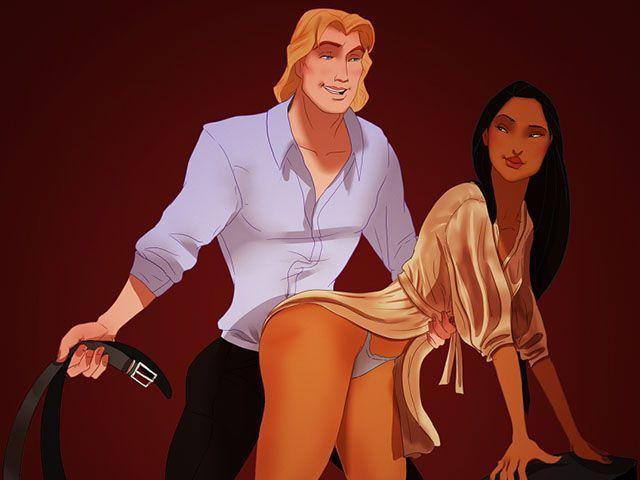 Cinquanta Sfumature di Grigio scene del film Disney