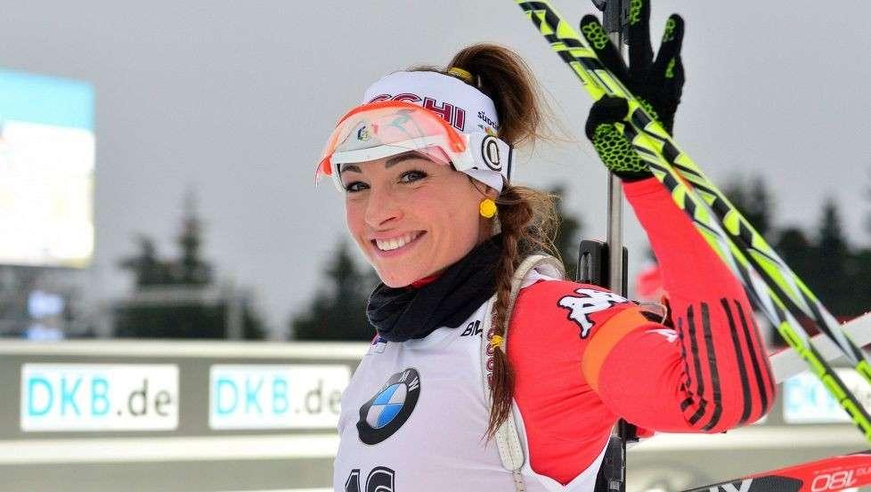 Dorothea Wierer, la più bella atleta del biathlon