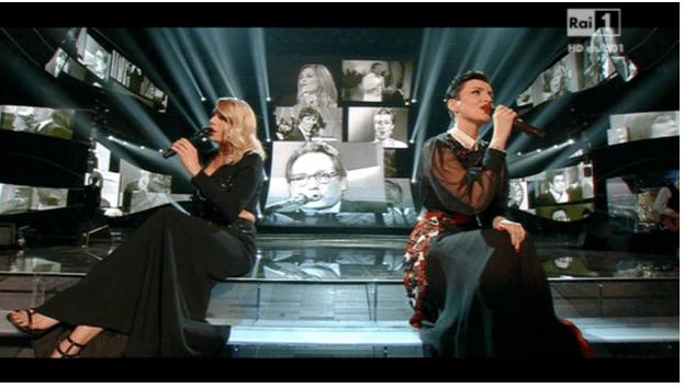 Il duetto di Emma e Arisa: le vallette di Sanremo 2015 cantano 'Il carrozzone'