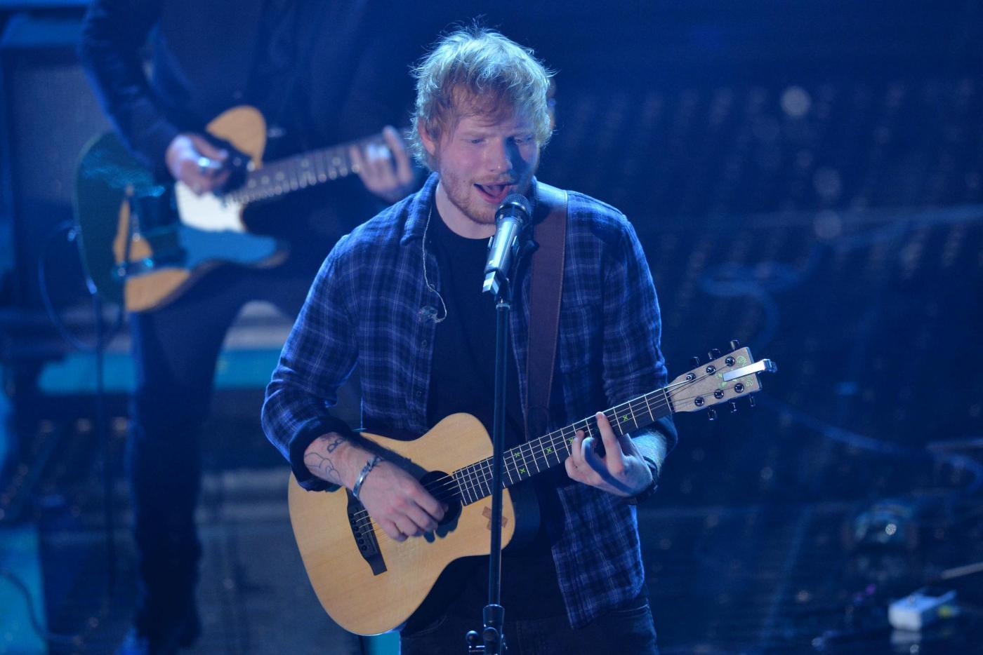 Ed Sheeran a Sanremo 2015 con Sing e Thinking Out Loud