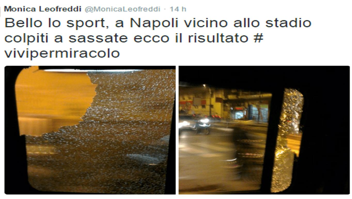 Monica Leofreddi, aggredita a Napoli troupe Endemol di 'A torto o ragione'