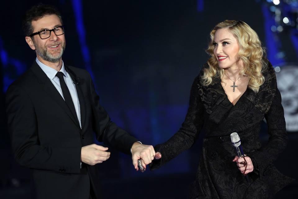 Madonna Che Tempo Che Fa video