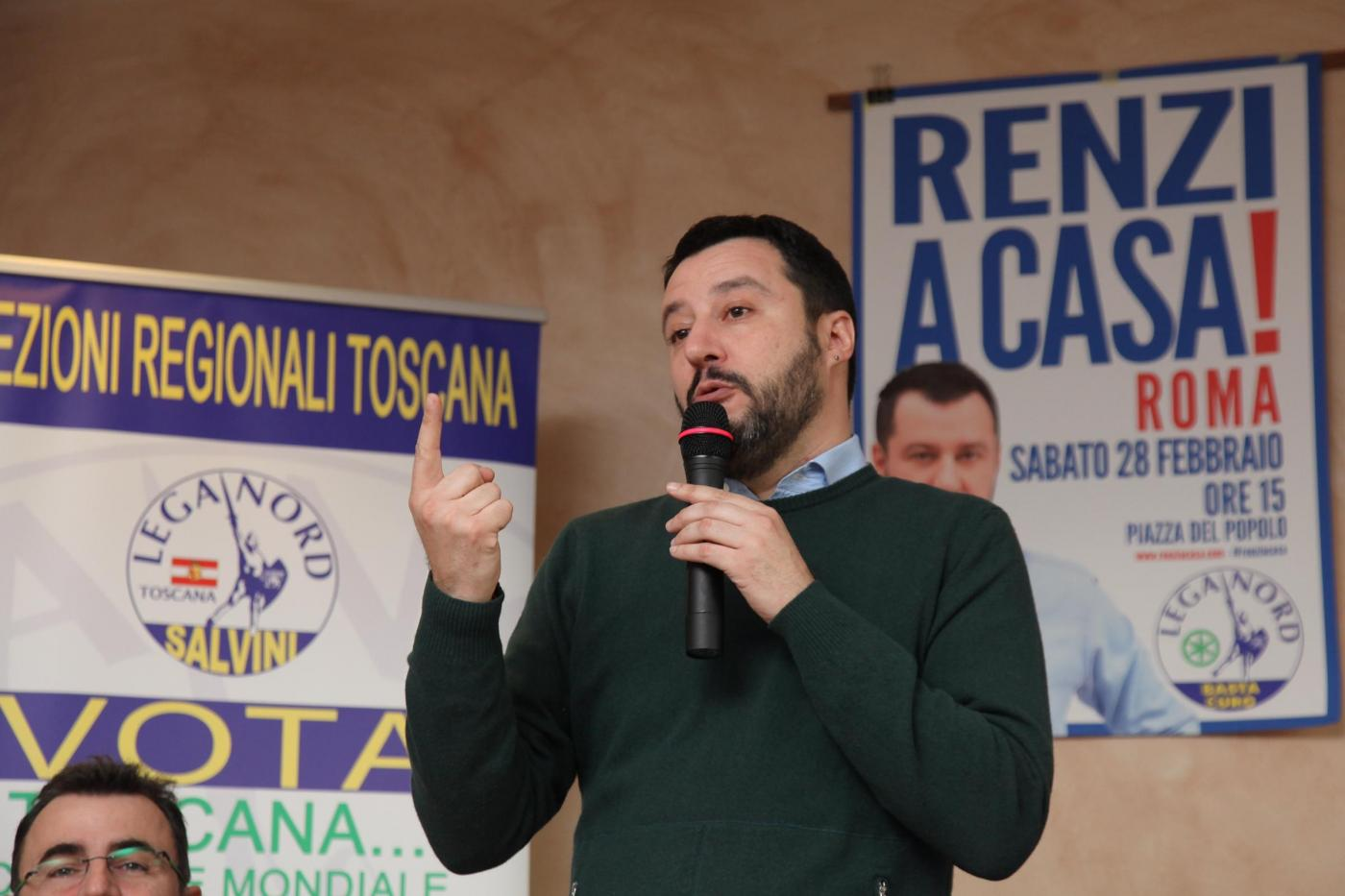 Salvini contro Berlusconi: «Nessun accordo con Forza Italia»