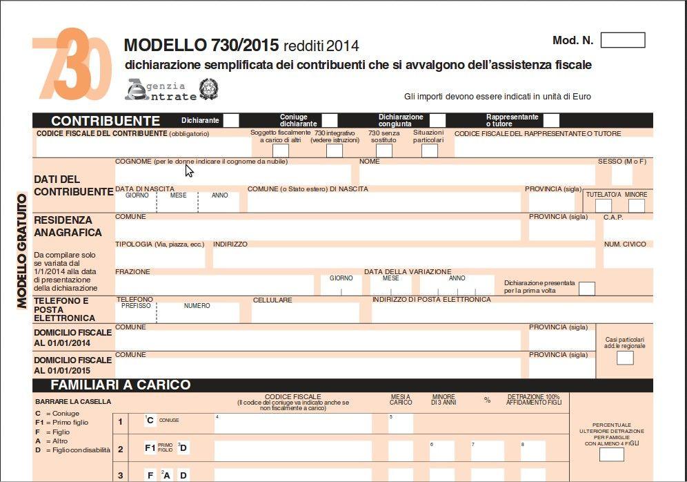 Modello 730 2015: come sarà la prossima dichiarazione dei redditi?