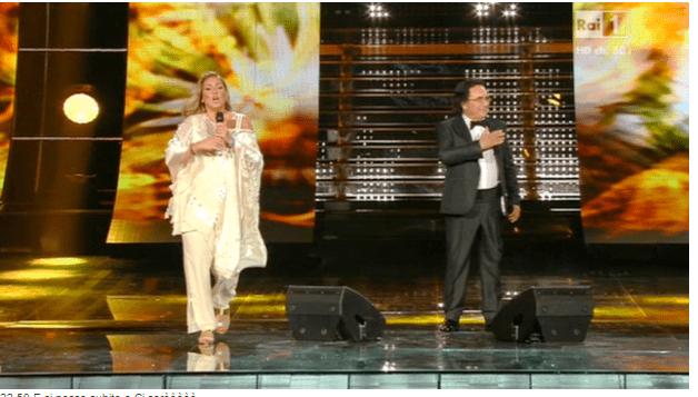 Albano e Romina Power insieme sul palco del Festival di Sanremo 2015