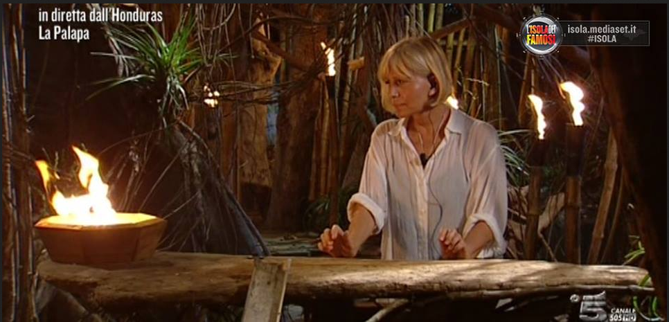 L'Isola dei Famosi 10: Catherine Spaak lascia il programma alla prima puntata