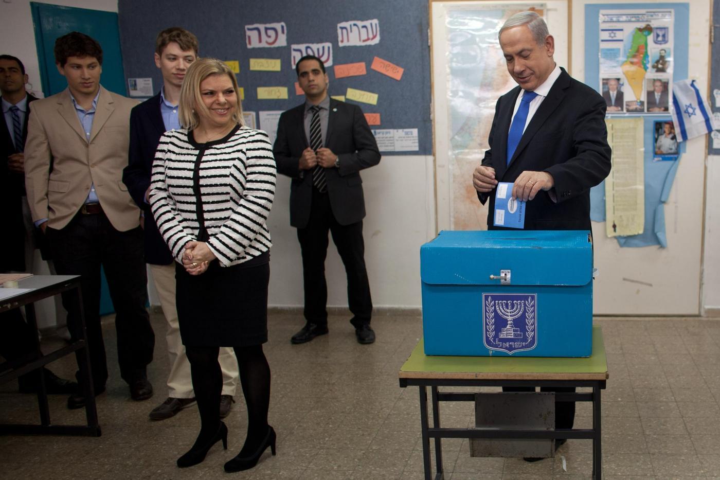 Benjamin Netanyahu elezioni