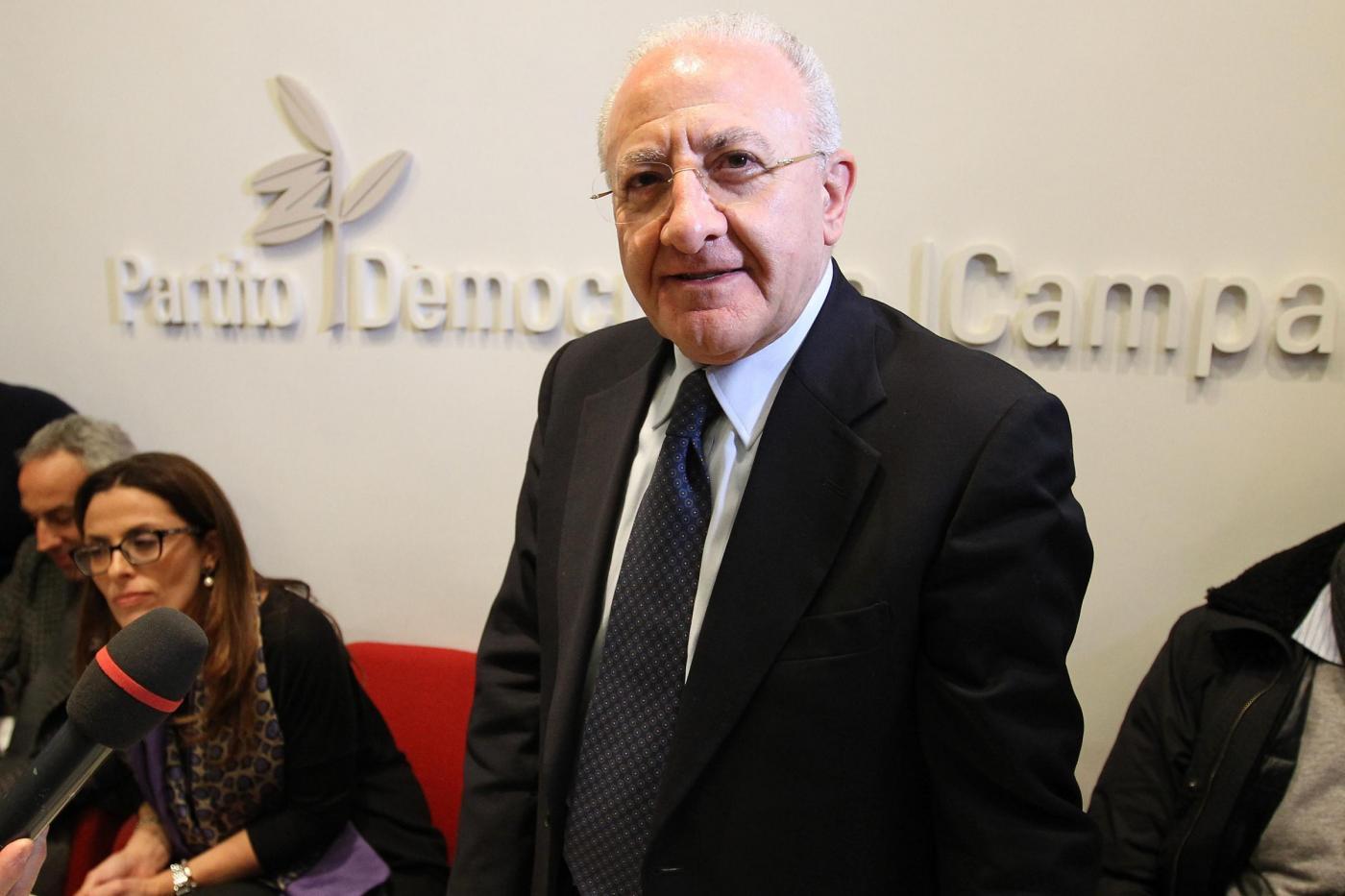 Primarie PD Campania 2015: De Luca sarà il candidato alle regionali